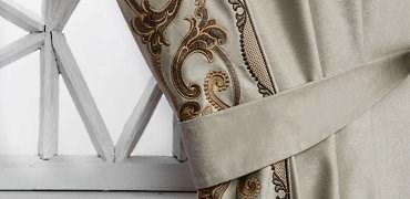 Скидки от 1001 до 3131 руб. на шторы с вышивкой