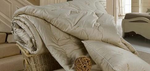 Скидка 20% на одеяла с шерстью