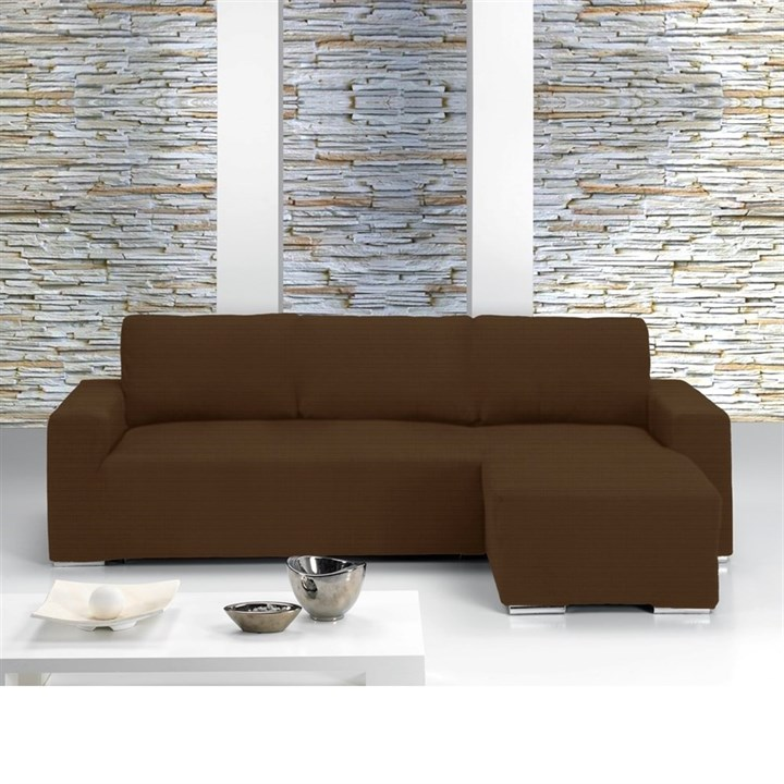 ИБИЦА МАРОН Чехол на угловой диван с выступом справа - фото 11626