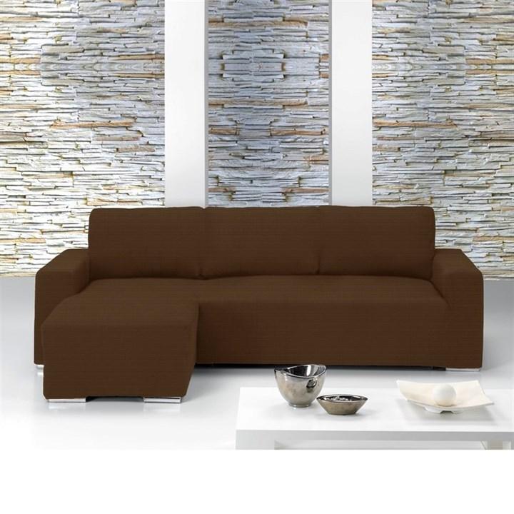 ИБИЦА МАРОН Чехол на угловой диван с выступом слева - фото 11629
