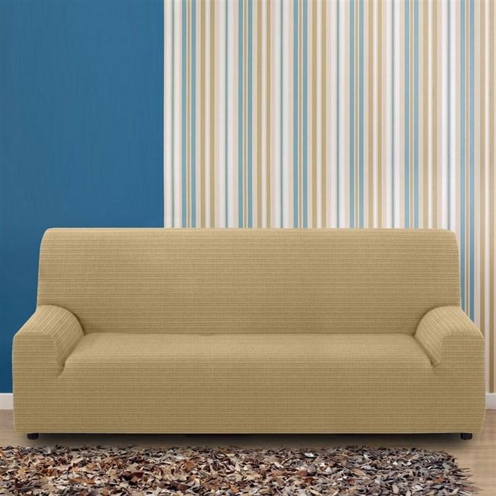 ИБИЦА БЕЖ Чехол на 4-х местный диван от 230 до 270 см - фото 11778