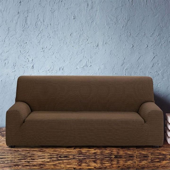ИБИЦА МАРОН Чехол на 4-х местный диван от 230 до 270 см - фото 11779