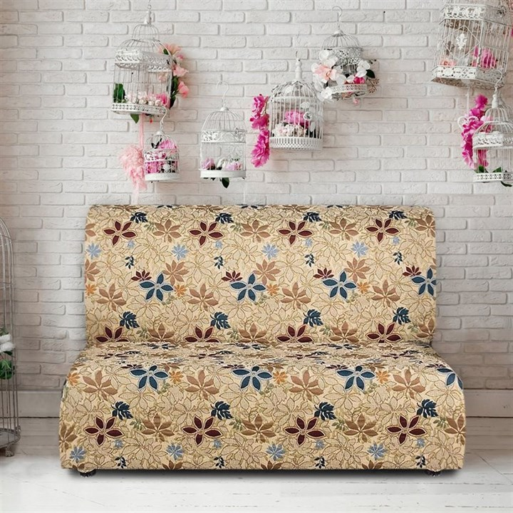 ДУНИЯ Чехол на диван без подлокотников от 160 до 210 см - фото 11799