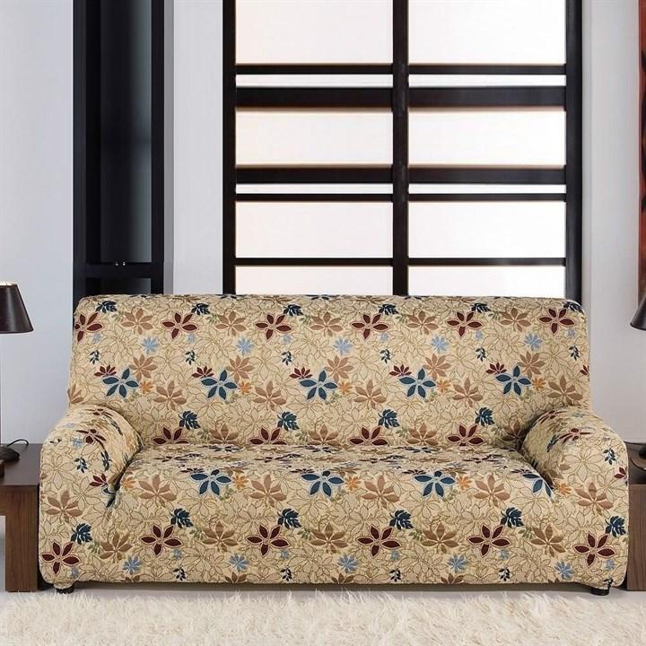 ДУНИЯ Чехол на 2-х местный диван от 120 до 170 см - фото 11802