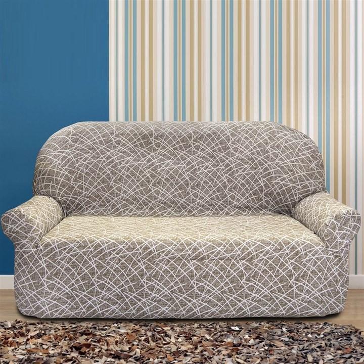 ГРЕЦИЯ ВИСОН Чехол на 3-х местный диван от 170 до 230 см - фото 11830