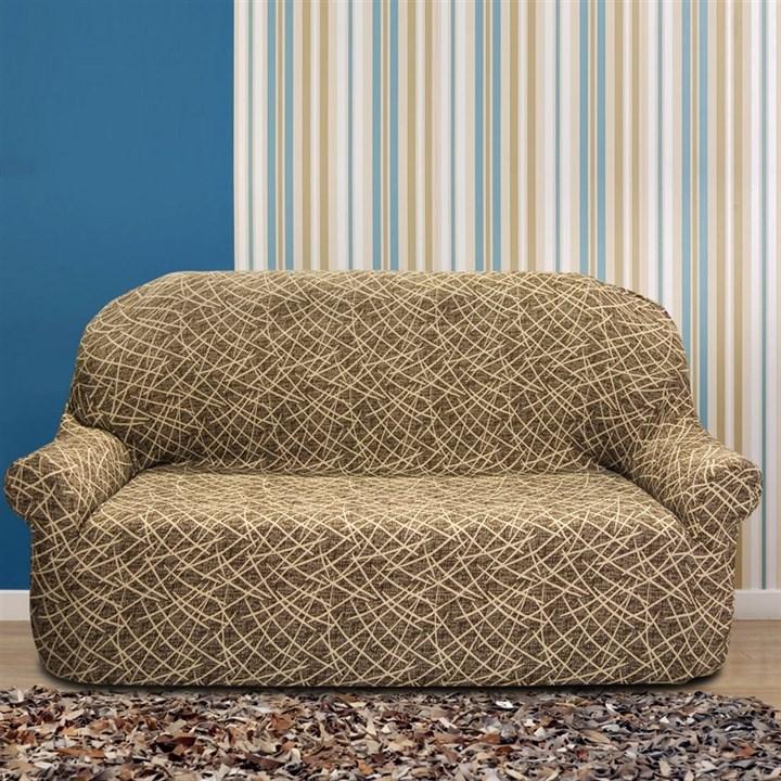ГРЕЦИЯ МАРОН Чехол на 3-х местный диван от 170 до 230 см - фото 11831