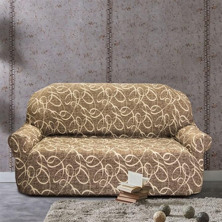 ПЕРСИЯ МАРОН Чехол на 3-х местный диван от 170 до 230 см - фото 11846