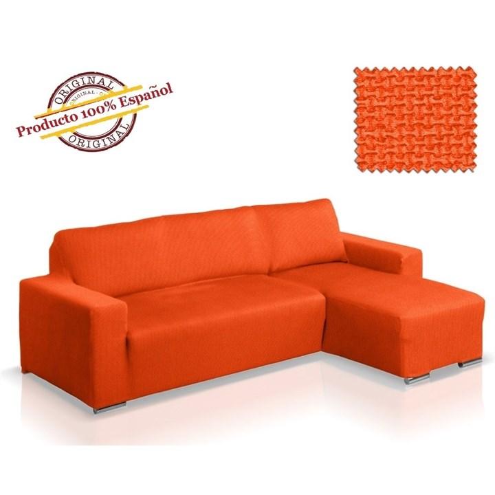 АЛЯСКА НАРАНИЯ Чехол на угловой диван с выступом справа - фото 11852