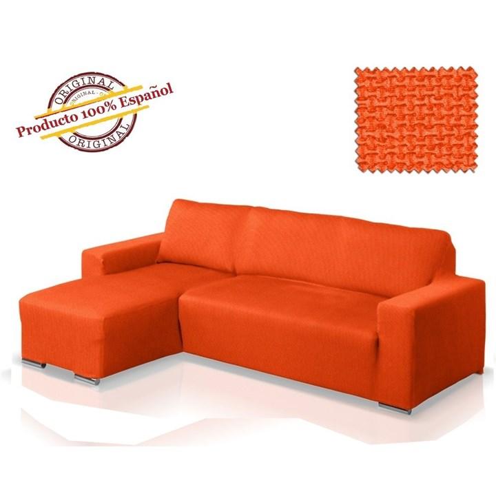 АЛЯСКА НАРАНИЯ Чехол на угловой диван с выступом слева - фото 11857