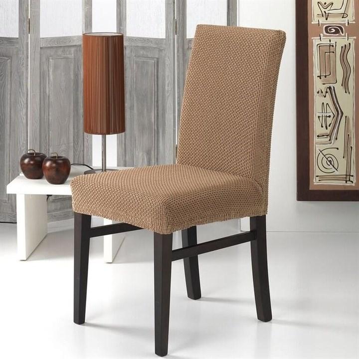 АЛЯСКА БЕЖ Чехлы на стулья со спинкой (2 шт.) - фото 11887