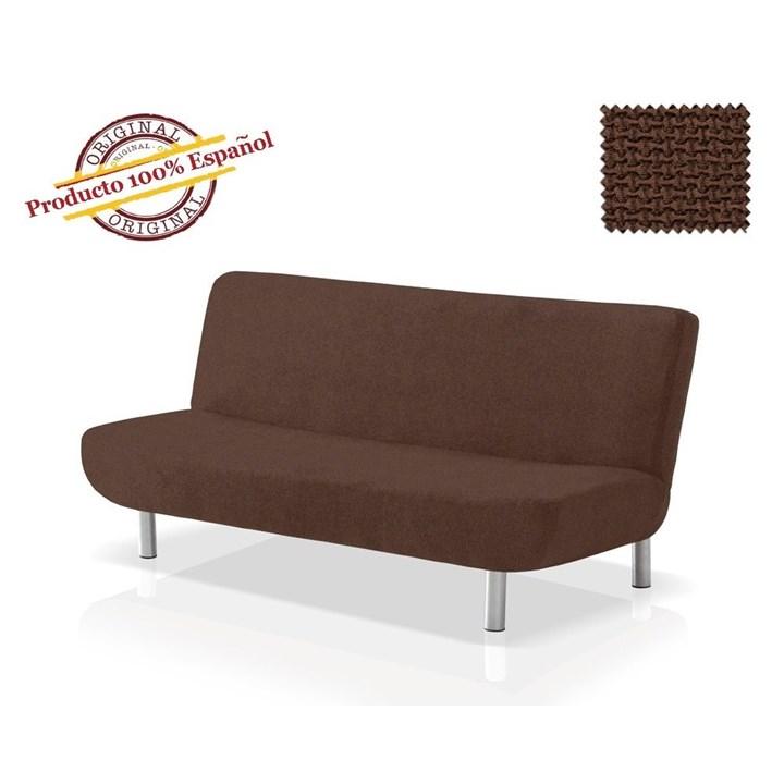 АЛЯСКА МАРОН Чехол на диван без подлокотников от 160 до 210 см - фото 11898
