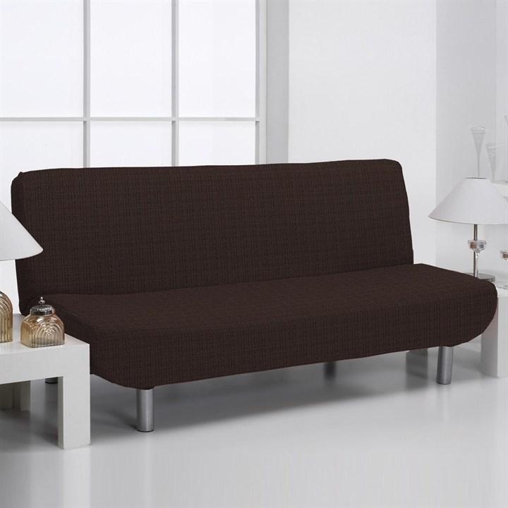 АЛЯСКА МАРОН Чехол на диван без подлокотников от 160 до 210 см - фото 11899