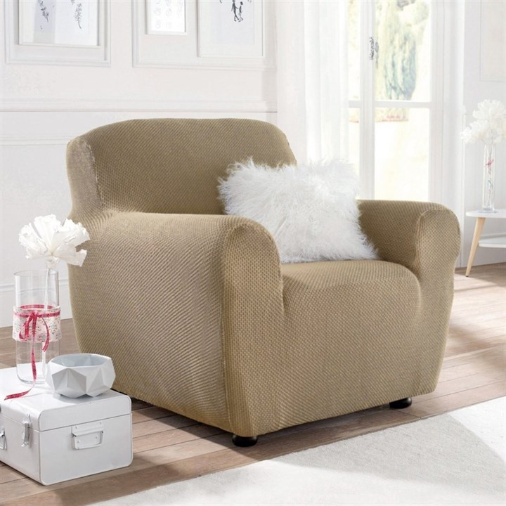 АЛЯСКА МАРФИЛ Чехол на кресло от 70 до 110 см - фото 11902