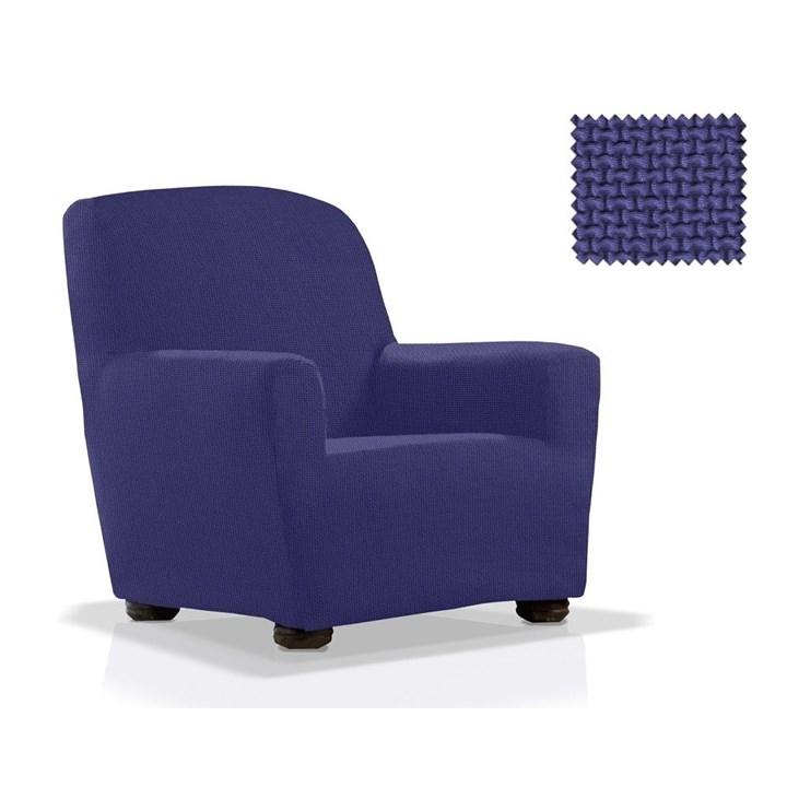 АЛЯСКА АЗУЛ Чехол на кресло от 70 до 110 см - фото 11905