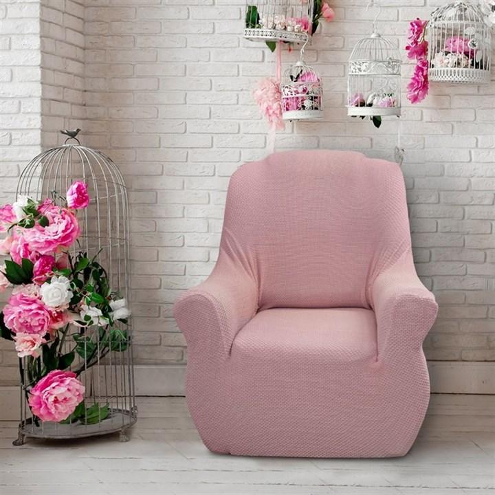 АЛЯСКА РОСА Чехол на кресло от 70 до 110 см - фото 11915