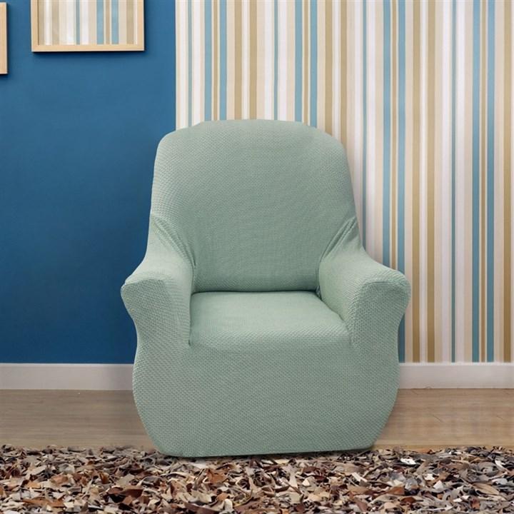 АЛЯСКА МЕНТА Чехол на кресло от 70 до 110 см - фото 11916