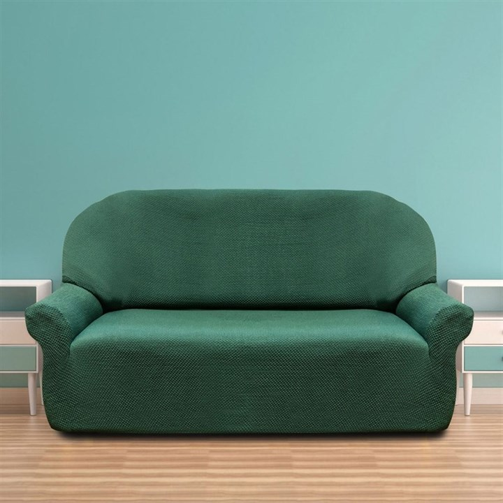 АЛЯСКА ВЕРДЕ Чехол на 3-х местный диван от 170 до 230 см - фото 11932