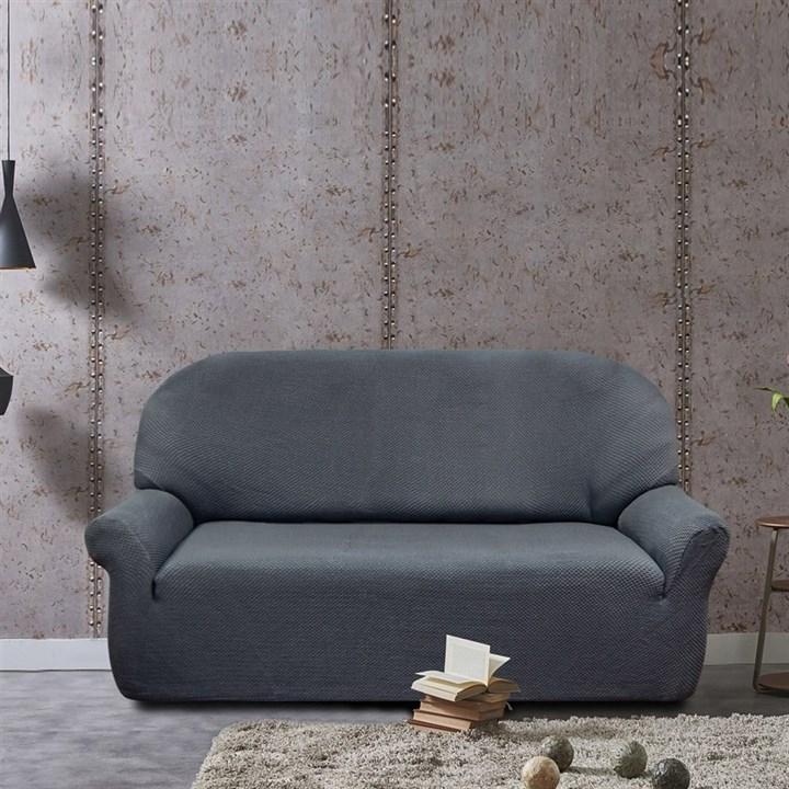 АЛЯСКА ГРИС Чехол на 3-х местный диван от 170 до 230 см - фото 11937