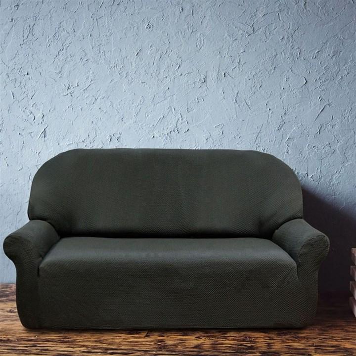 АЛЯСКА НЕГРО Чехол на 3-х местный диван от 170 до 230 см - фото 11939