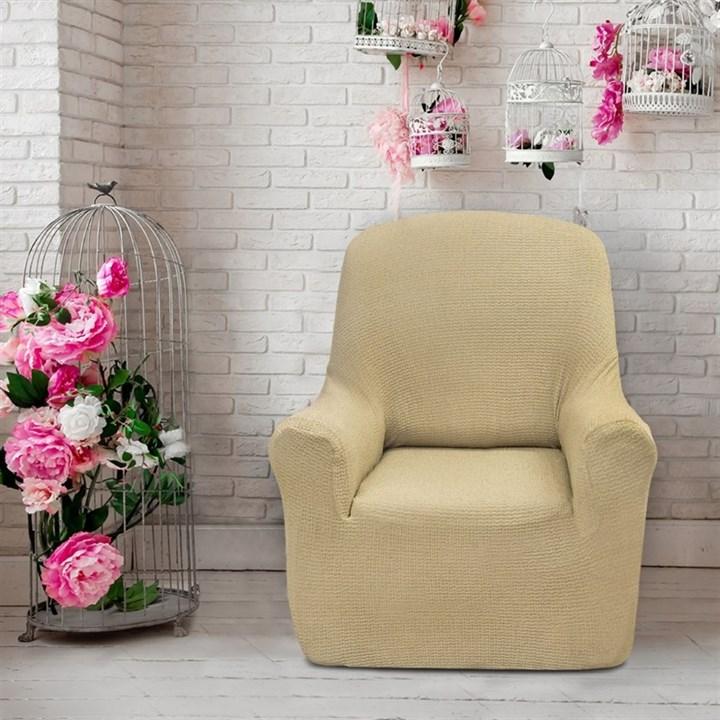 ЭЛЕГАНТ ЛИНО Чехол на кресло от 70 до 110 см - фото 11948