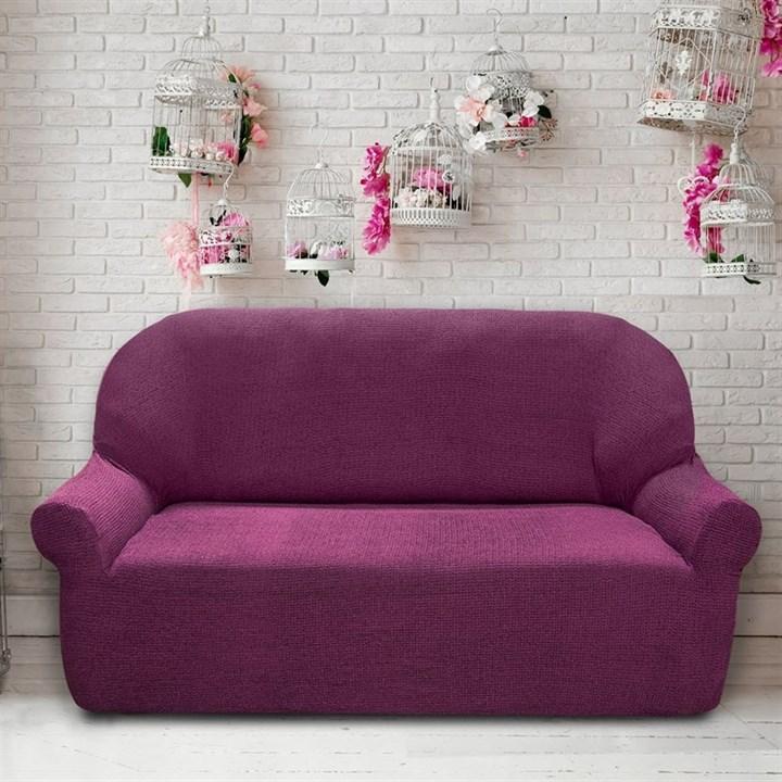 ЭЛЕГАНТ МАЛВА Чехол на 3-х местный диван от 170 до 230 см - фото 11959