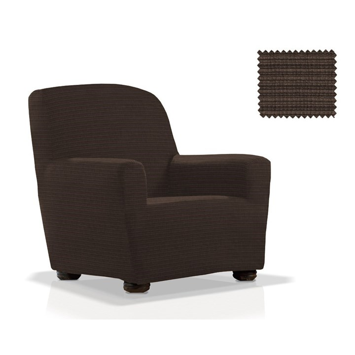 ИБИЦА НЕГРО Чехол на кресло от 70 до 110 см - фото 11975