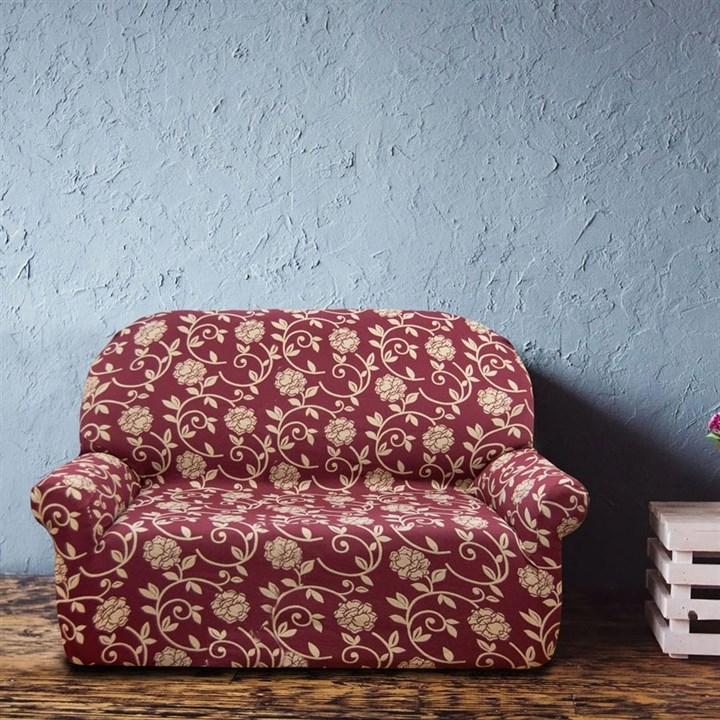 АКАПУЛЬКО РОХО Чехол на 2-х местный диван от 120 до 170 см - фото 11982