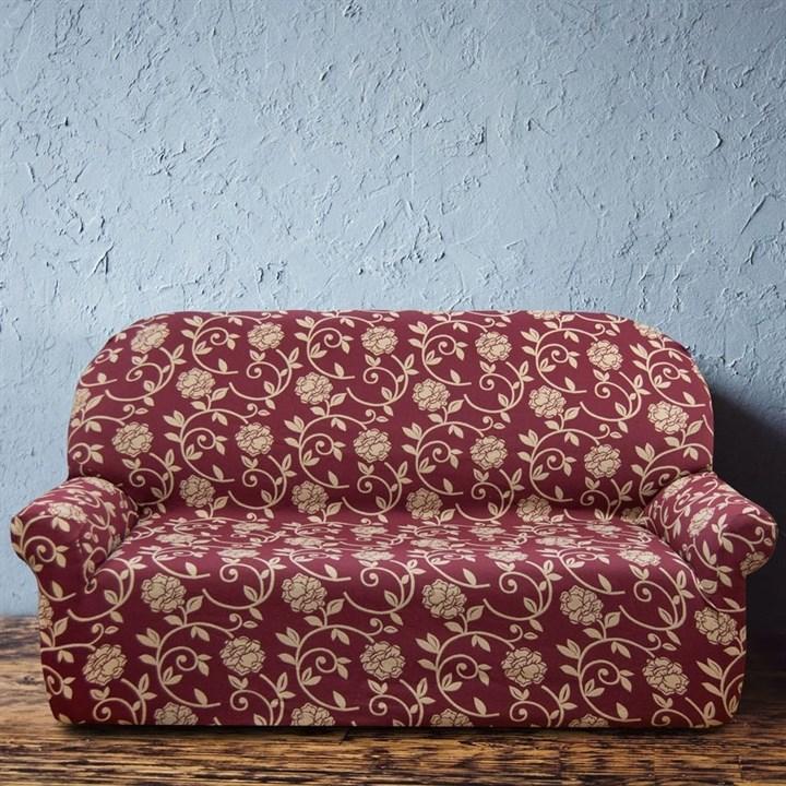АКАПУЛЬКО РОХО Чехол на 3-х местный диван от 170 до 230 см - фото 11988