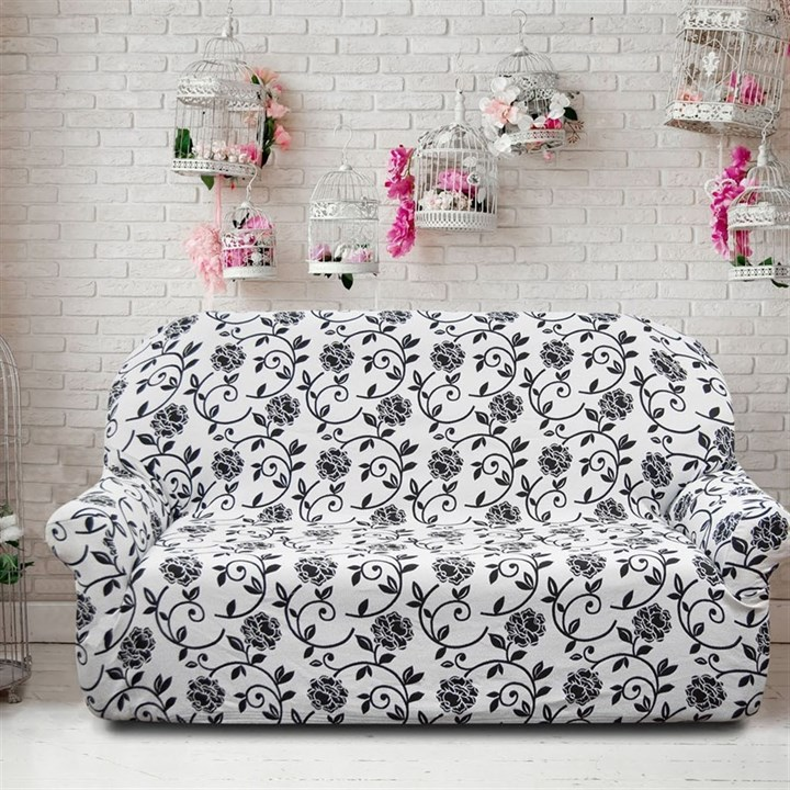 АКАПУЛЬКО БЛАНКО Чехол на 3-х местный диван от 170 до 230 см - фото 11991