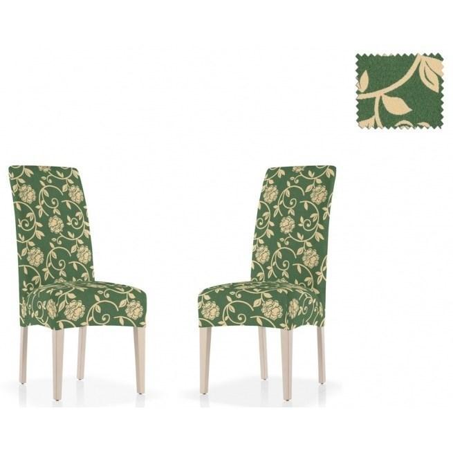 АКАПУЛЬКО ВЕРДЕ Чехлы на стулья со спинкой (2 шт.) - фото 11995