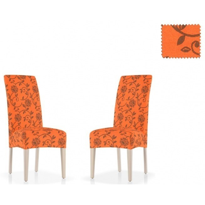 АКАПУЛЬКО НАРАНИЯ Чехлы на стулья со спинкой (2 шт.) - фото 11996