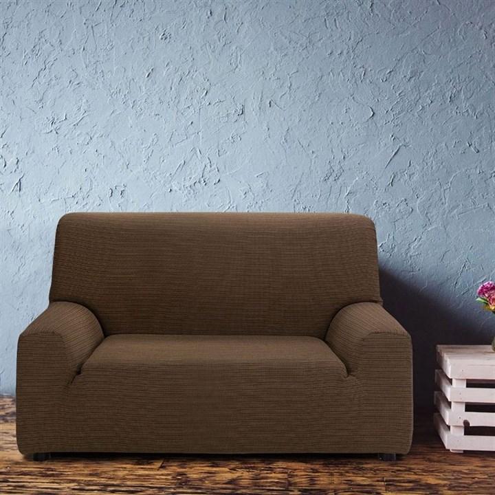 ИБИЦА МАРОН Чехол на 2-х местный диван от 120 до 170 см - фото 12665
