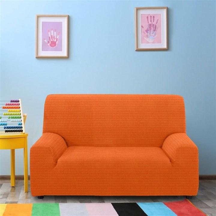 ИБИЦА НАРАНИЯ Чехол на 2-х местный диван от 120 до 170 см - фото 12669