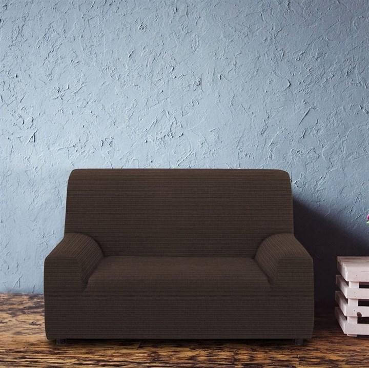 ИБИЦА НЕГРО Чехол на 2-х местный диван от 120 до 170 см - фото 12672