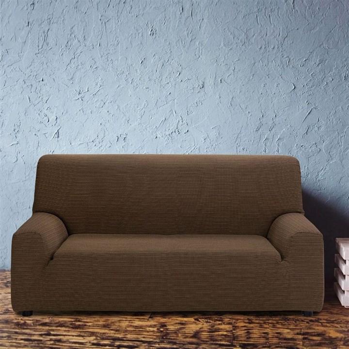 ИБИЦА МАРОН Чехол на 3-х местный диван от 170 до 230 см - фото 12675