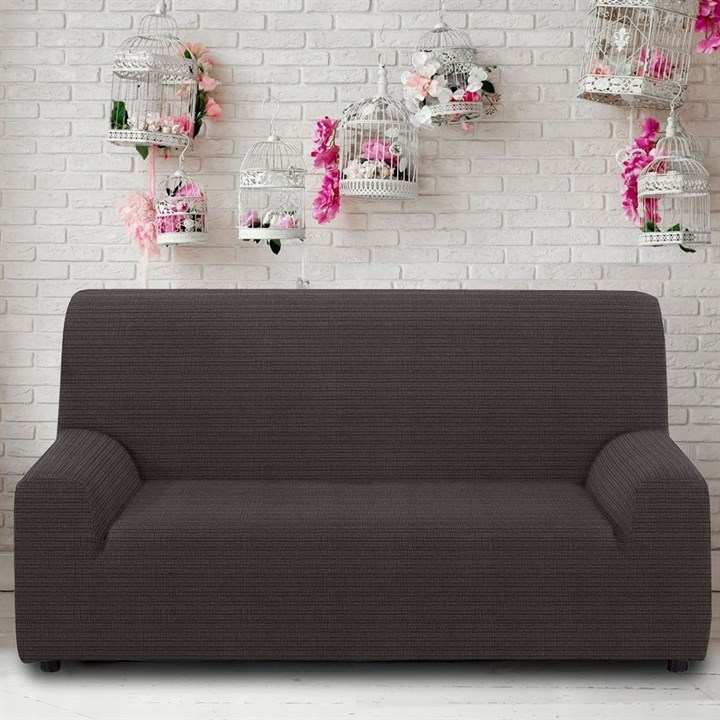 ИБИЦА ГРИС Чехол на 3-х местный диван от 170 до 230 см - фото 12681