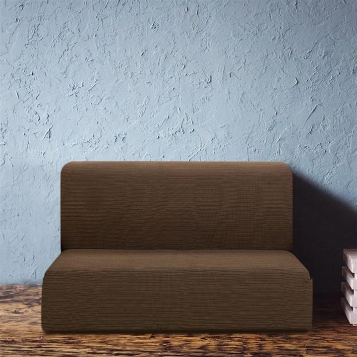 ИБИЦА МАРОН Чехол на диван без подлокотников от 160 до 210 см - фото 12708
