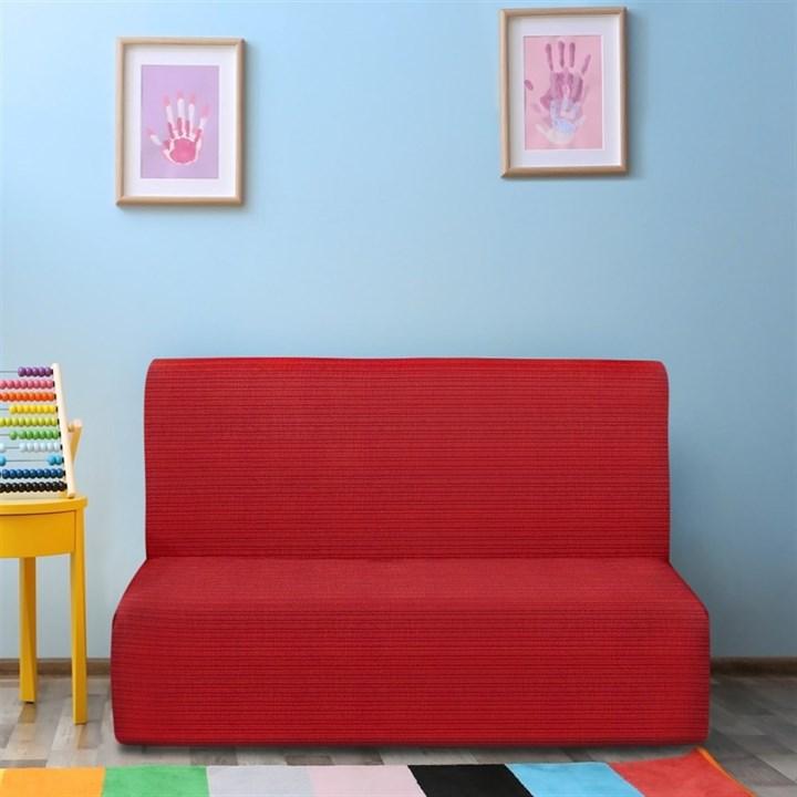 ИБИЦА РОХО Чехол на диван без подлокотников от 160 до 210 см - фото 12711