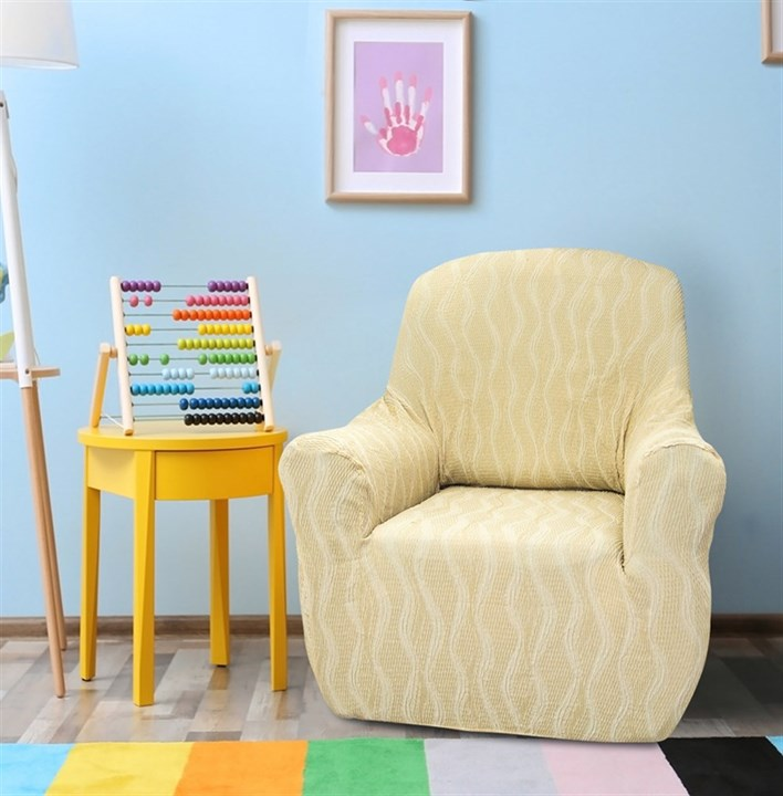 ТОСКАНА МАРФИЛ Чехол на кресло от 70 до 110 см - фото 12714