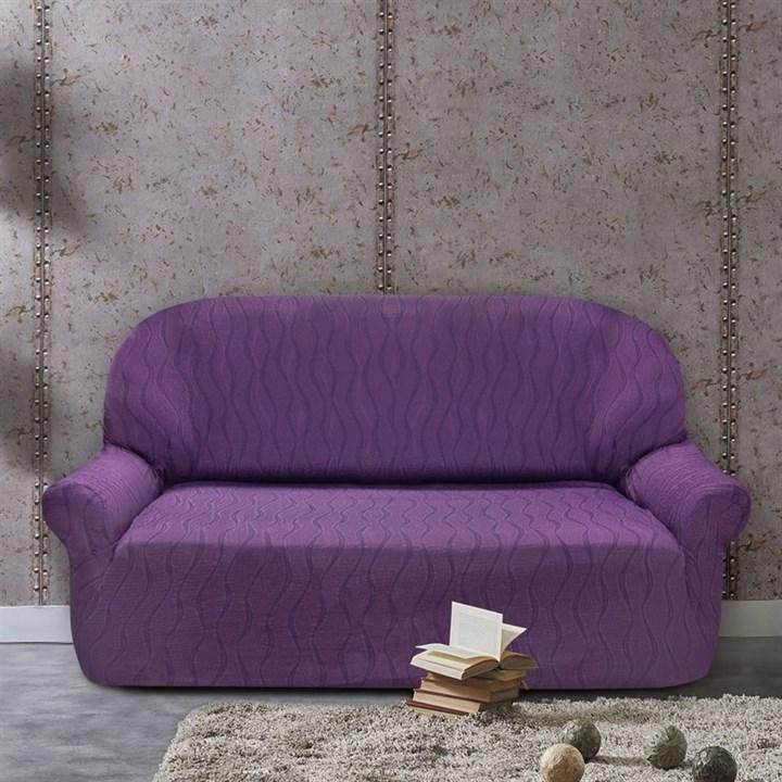 ТОСКАНА МАЛВА Чехол на 3-х местный диван от 170 до 230 см - фото 12729