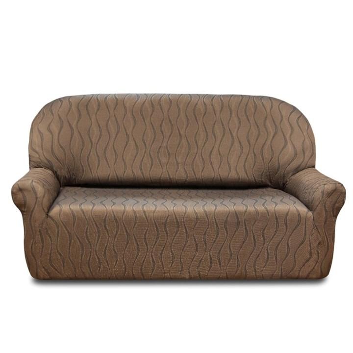 ТОСКАНА МАРОН Чехол на 4-х местный диван от 230 до 270 см - фото 12735
