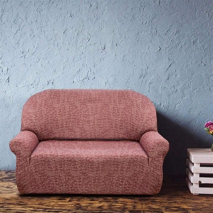 МАЛЬТА РОХО Чехол на 2-х местный диван от 120 до 170 см - фото 12762