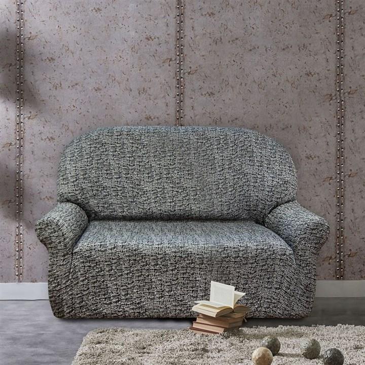 МАЛЬТА НЕГРО Чехол на 2-х местный диван от 120 до 170 см - фото 12764