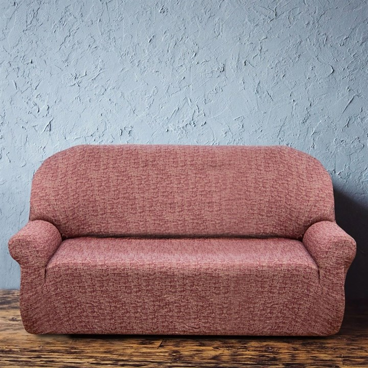 МАЛЬТА РОХО Чехол на 3-х местный диван от 170 до 230 см - фото 12769