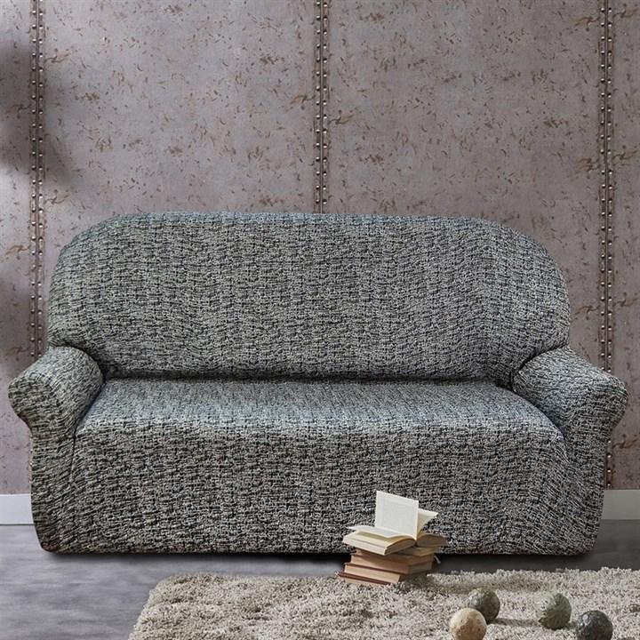 МАЛЬТА НЕГРО Чехол на 3-х местный диван от 170 до 230 см - фото 12771