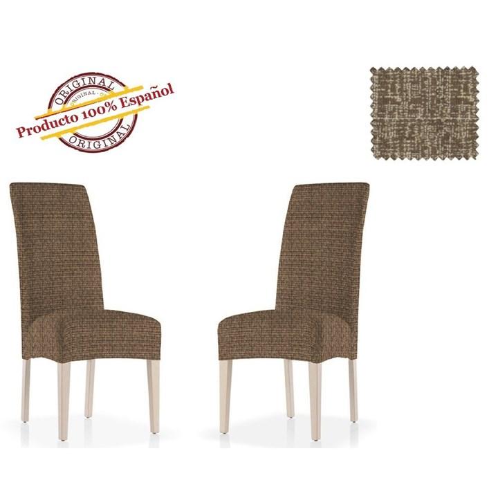МАЛЬТА МАРОН Чехлы на стулья со спинкой (2 шт.) - фото 12781