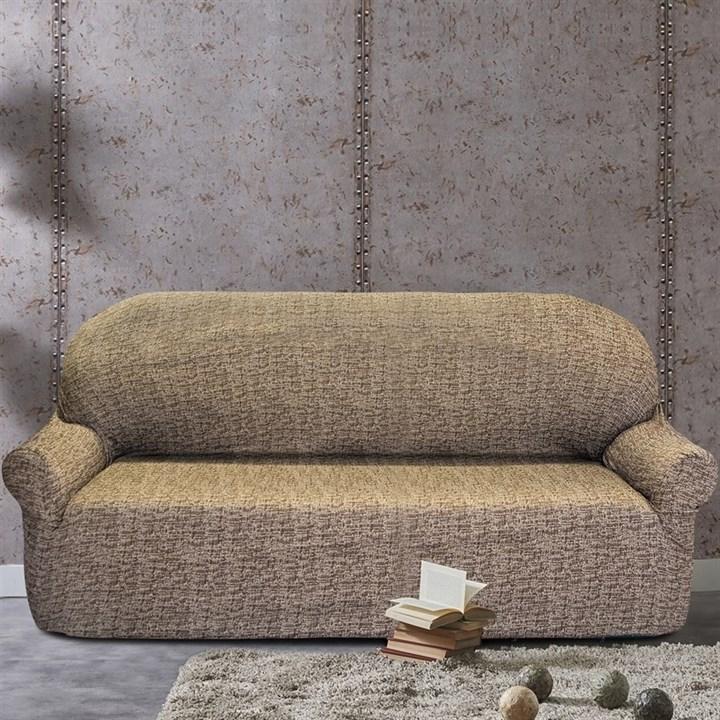 МАЛЬТА МАРОН Чехол на 4-х местный диван от 230 до 270 см - фото 12786