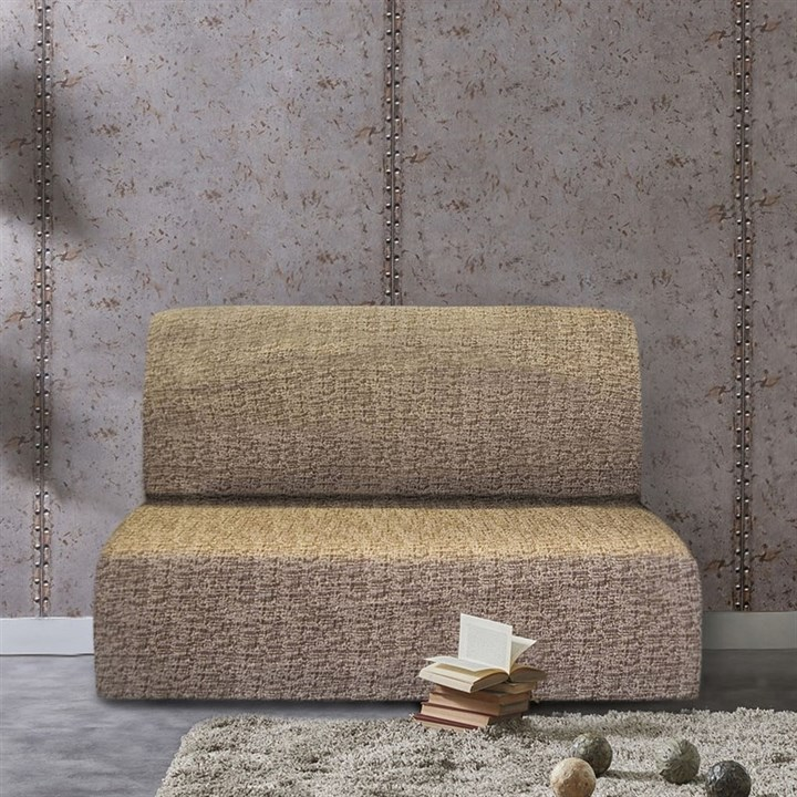 МАЛЬТА МАРОН Чехол на диван без подлокотников от 160 до 210 см - фото 12789