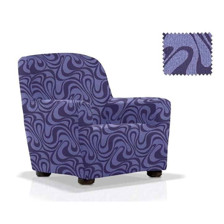 ДАНУБИО АЗУЛ Чехол на кресло от 70 до 110 см - фото 12792