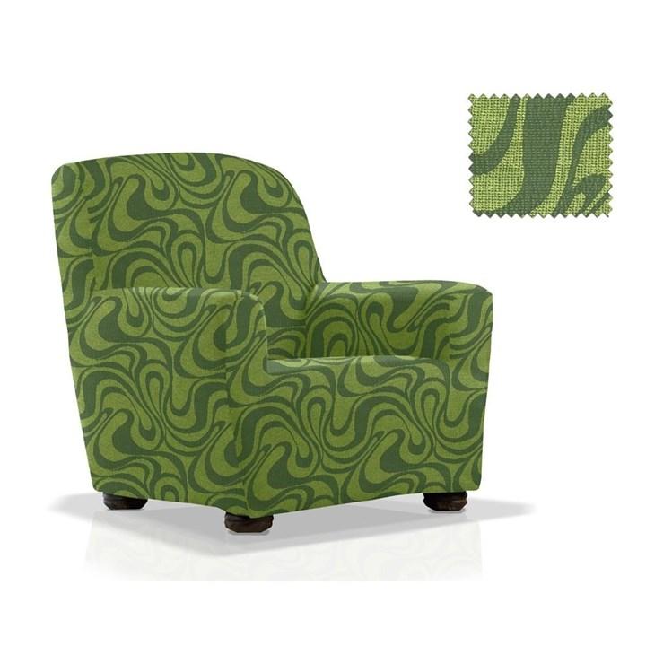 ДАНУБИО ВЕРДЕ Чехол на кресло от 70 до 110 см - фото 12794
